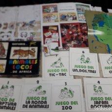 Barajas de cartas: FOURNIER, ANIMALES LOCOS, BARAJA COMPLETA Y JUEGO TAMBIEN.. Lote 213081983