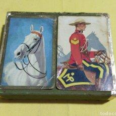 Barajas de cartas: ANTIGUAS BARAJAS DE CARTAS ARRCO PLAYING CARD CO. CHICAGO 1930. Lote 213284013