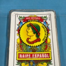 Barajas de cartas: BARAJA DE CARTAS COMPLETA. BARAJA DE NAIPE ESPAÑOL. MÁS REYNALS. VARITEMAS. Lote 213325933