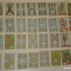 Barajas de cartas: BARAJA ESPAÑOLA CON FOTOS DE TOREROS. Lote 213413087