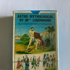 Barajas de cartas: ASTRO MYTHOLOGICAL. Lote 213471161