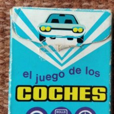 Jeux de cartes: EL JUEGO DE LOS COCHES - COMPLETA. Lote 213475835