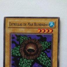 Barajas de cartas: CARTA YU-GI-OH ORIGINAL EN ESPAÑOL YU GI OH ESTRELLAS DE MAR BLINDADAS. Lote 213588752