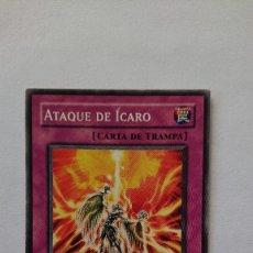 Barajas de cartas: CARTA YU-GI-OH ORIGINAL EN ESPAÑOL YU GI OH ATAQUE DE ICARO. Lote 213588978