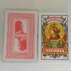Barajas de cartas: BARAJA DE CARTAS HERACLIO FOURNIER PUBLICIDAD REPUBLICA ESPAÑOLA 40 CARTAS SIN USAR NAIPES. Lote 213656141