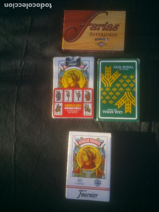 Barajas de cartas: Juego de Cartas Baraja española Naipes - H. Fournier - Foto 2 - 213672921