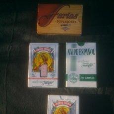 Barajas de cartas: JUEGO DE CARTAS BARAJA ESPAÑOLA NAIPES - H. FOURNIER. Lote 213672921