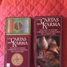 Jeux de cartes: LAS CARTAS DEL KARMA-TAROT. Lote 213678133