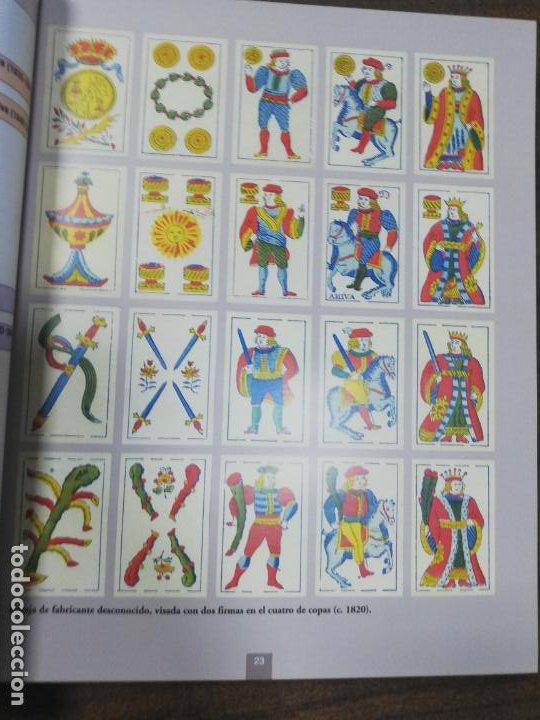 Barajas de cartas: LOS NAIPES DE CADIZ. PRIMERA EDICIÓN. EJEMPLAR Nº441 DE 100. 288 PAGS. NUEVO. 28,8 X 23,8 CM - Foto 8 - 213687163