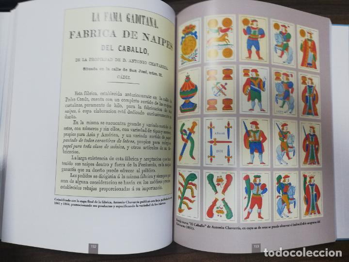 Barajas de cartas: LOS NAIPES DE CADIZ. PRIMERA EDICIÓN. EJEMPLAR Nº441 DE 100. 288 PAGS. NUEVO. 28,8 X 23,8 CM - Foto 10 - 213687163