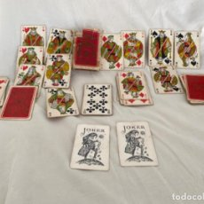 Jeux de cartes: ANTIGUA BARAJA DE CARTAS EDICICION NUMERADA BRIDGE CARTES DE LUXE BELGA COMPLETA 54 CARTAS. Lote 213691477
