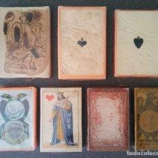Barajas de cartas: LOTE BARAJAS ITALIANAS MUSEO FOURNIER. Lote 213738817