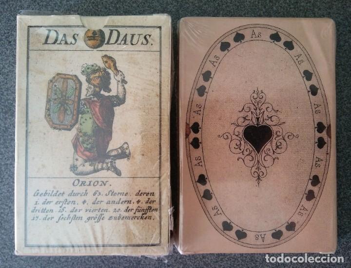 LOTE BARAJAS ALEMANAS MUSEO FOURNIER (Juguetes y Juegos - Cartas y Naipes - Otras Barajas)