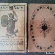 Barajas de cartas: LOTE BARAJAS ALEMANAS MUSEO FOURNIER. Lote 213739032