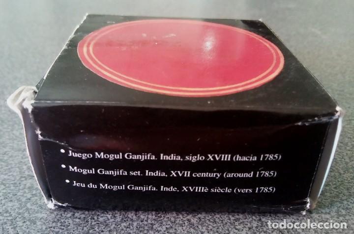 Barajas de cartas: Juego Mogul Ganjifa India Museo Fournier - Foto 2 - 213740467