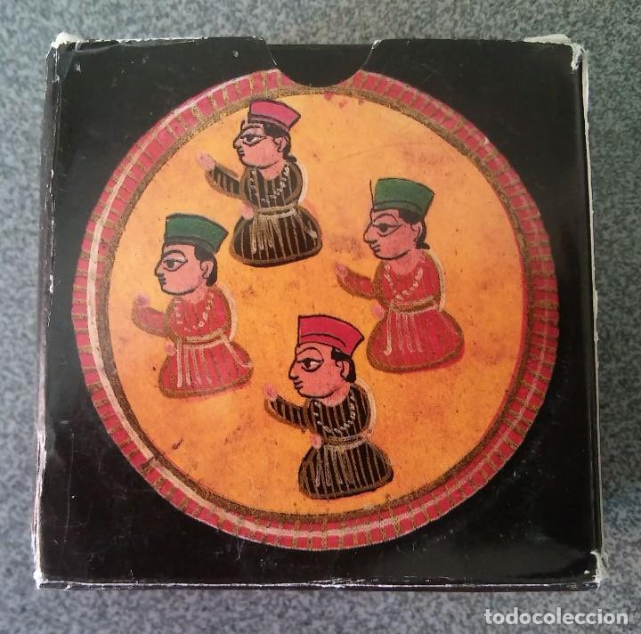 Barajas de cartas: Juego Mogul Ganjifa India Museo Fournier - Foto 3 - 213740467