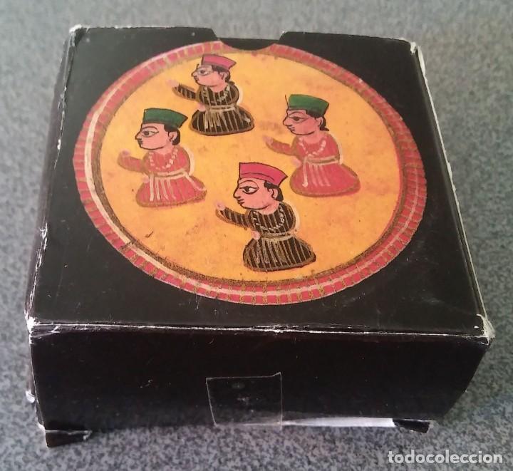 Barajas de cartas: Juego Mogul Ganjifa India Museo Fournier - Foto 4 - 213740467