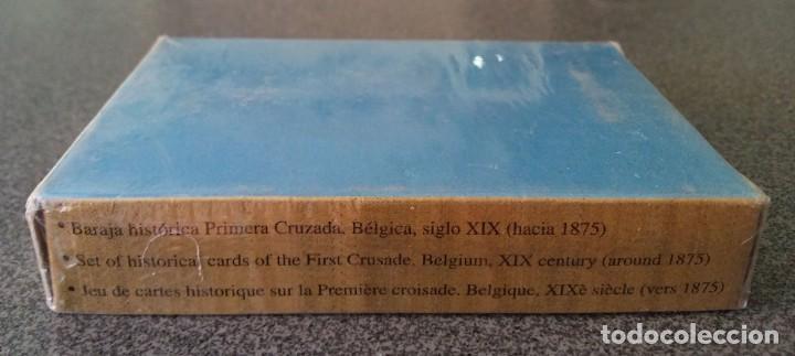 Barajas de cartas: Baraja Primera Cruzada Bélgica Museo Fournier - Foto 3 - 213742828