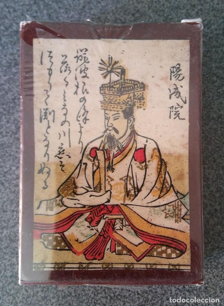 BARAJA HYAKUNIN ISSU UTA KARUTA JAPÓN MUSEO FOURNIER (Juguetes y Juegos - Cartas y Naipes - Otras Barajas)