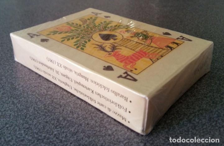 Barajas de cartas: Baraja folklórica Hungría Museo Fournier - Foto 2 - 213743008