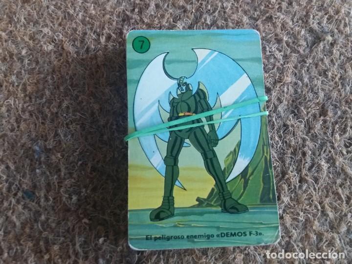 Barajas de cartas: Lote de 31 cartas originales. Años 70. Mazinger Z. Baraja Heraclio Fournier. Falta una carta. - Foto 2 - 213758237