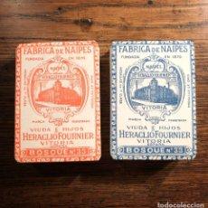 Mazzi di carte: BARAJAS JUEGO BOSQUE DE RULETA. AÑOS 30 (LOTE DE 2). Lote 241681400