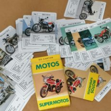 Mazzi di carte: CARTAS MOTOS MARCAS Y MODELOS DE AÑOS 80 ESTA COMPLETA CON LA CAJA. MUY BIEN CONSERVADA. Lote 213773421