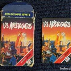 Jeux de cartes: BARAJA CARTAS CARDS NAIPES ARISTOGATOS COMPLETA 1995 FOURNIER DISNEY 1995. Lote 213918967