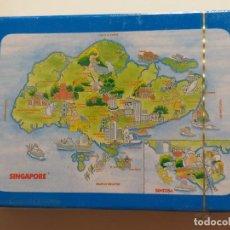 Barajas de cartas: BARAJA DE POKER CON PUBLICIDAD DE SINGAPUR.. Lote 213998340