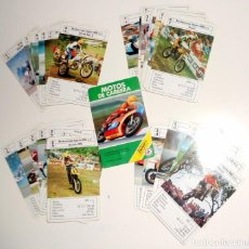 Jeux de cartes: BARAJA INFANTIL ANTIGUA AÑO 1988 - MOTOS DE CARRERA - HERACLIO FOURNIER - NAIPES. Lote 214220943