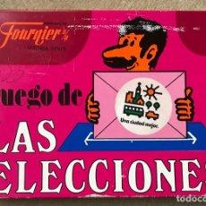 Barajas de cartas: JUEGO DE LAS ELECCIONES - CARTAS, NAIPES HERACLIO FOURNIER - VITORIA - AÑO 1977. Lote 214294613