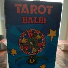 Barajas de cartas: TAROT BALBI. Lote 214339950