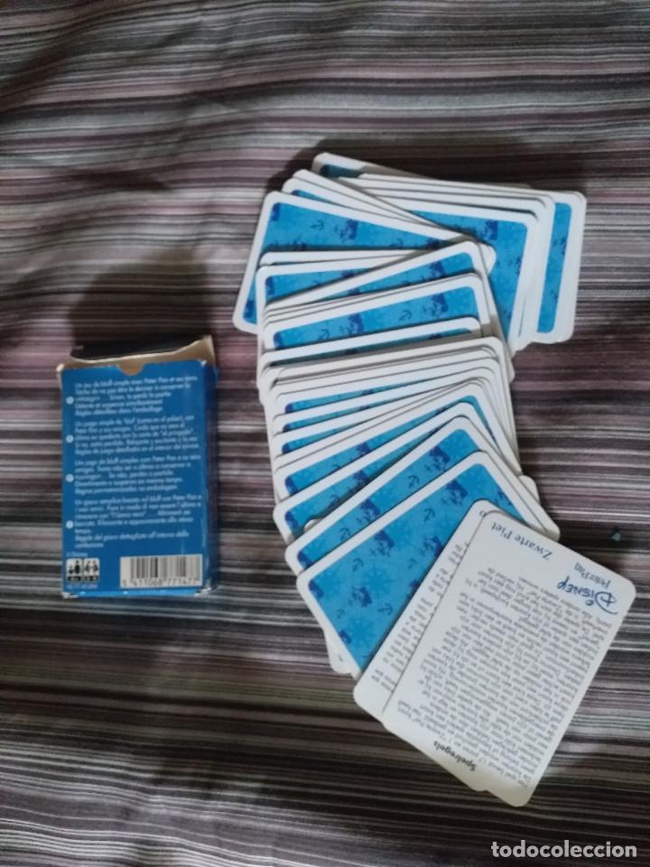 Barajas de cartas: BARAJA CARTAS INFANTIL CARTA MUNDI BÉLGICA DISNEY PETER PAN - Foto 3 - 214369706