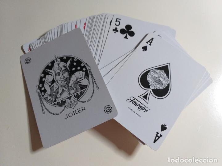 Barajas de cartas: Juego de cartas VICTORIA. 18 Poker. FOURNIER. - Foto 3 - 214434610