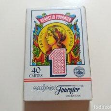 Barajas de cartas: JUEGO DE NAIPES ESPAÑOL DE HERACLIO FOUNIER. VITORIA.. Lote 214435618