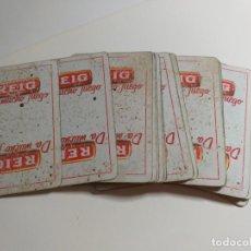 Barajas de cartas: BARAJA DE CARTAS. PUBLICITARIA. REIG. DA MUCHO JUEGO. ESPAÑOLA.. Lote 214436340