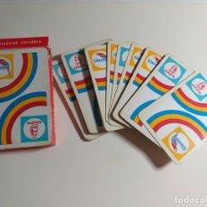 Barajas de cartas: JUEGO DE NAIPES ESPAÑOL DE HERACLIO FOUNIER. VITORIA. PROPAGANDA DE GOLETA. GLAUSURIT.. Lote 214442380