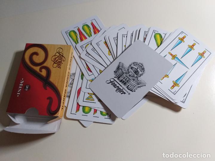 Barajas de cartas: Baraja clasica española con publicidad de Farias mini - Foto 4 - 214442447