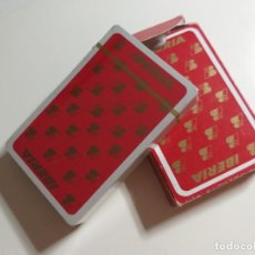 Barajas de cartas: BARAJA CLASICA ESPAÑOLA CON PUBLICIDAD DE LAS AEROLINEAS IBERIA. Lote 214442502