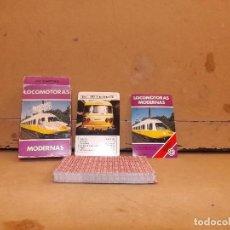 Mazzi di carte: BARAJA INFANTIL LOCOMOTORAS FOURNIER. Lote 214547136