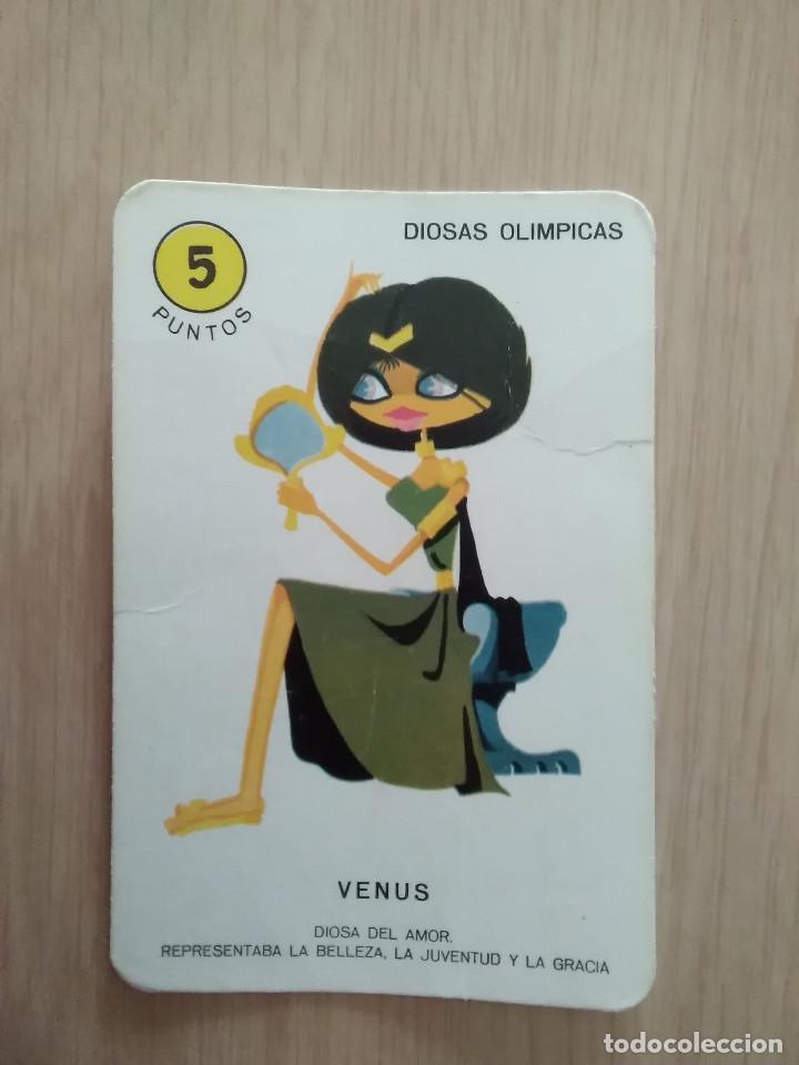 CARTA EL JUEGO DEL OLIMPO VENUS (Juguetes y Juegos - Cartas y Naipes - Barajas Infantiles)
