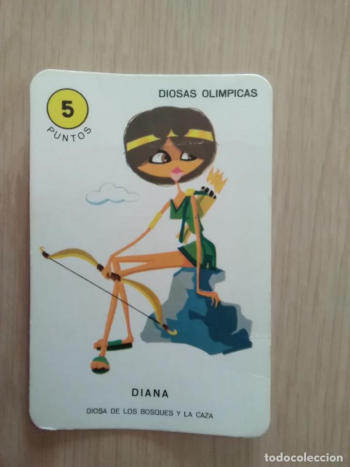 CARTA EL JUEGO DEL OLIMPO DIANA (Juguetes y Juegos - Cartas y Naipes - Barajas Infantiles)