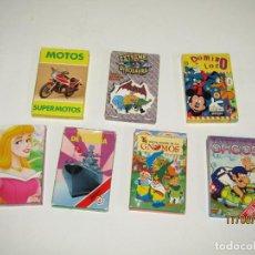Barajas de cartas: ANTIGUO LOTE DE 7 BARAJAS INFANTILES FOURNIER - AÑO 1990S.. Lote 214719757