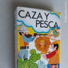 Barajas de cartas: CAZA Y PESCA BARAJA JUEGO INFANTIL NAIPES COMAS NUEVA. Lote 238881025