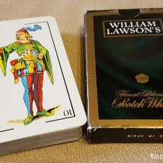 Barajas de cartas: WILLIAM LAWSON´S BARAJA ESPAÑOLA. Lote 214882083