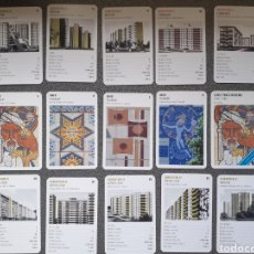 Barajas de cartas: JUEGO DE CARTAS ARQUITECTURA - SOVIET MASS HOUSING 1958 - 1980 TOP TRUMPS. Lote 214974870