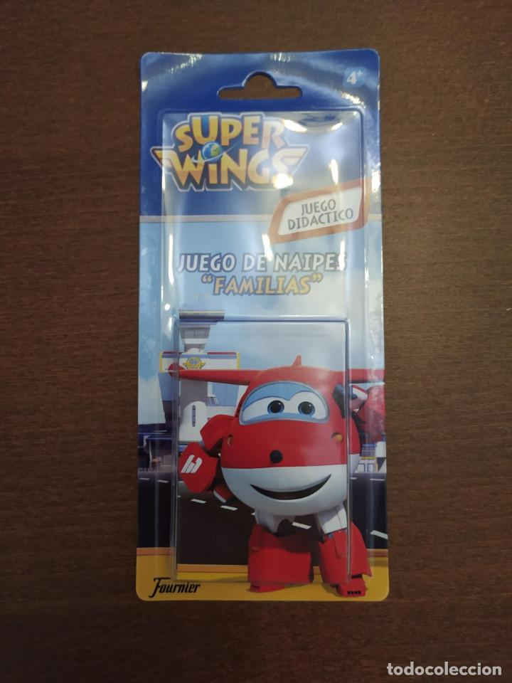 BARAJA SUPER WINGS - JUEGO DE CARTAS INFANTIL - FOURNIER - A ESTRENAR (Juguetes y Juegos - Cartas y Naipes - Barajas Infantiles)