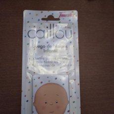 Jeux de cartes: BARAJA CAILLOU - JUEGO DE CARTAS INFANTIL - A ESTRENAR - FOURNIER. Lote 215008516