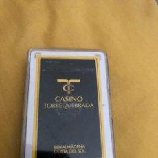 Barajas de cartas: BARAJA HERACLIO FOURNIER CASINO TORREQUEBRADA. Lote 215021456