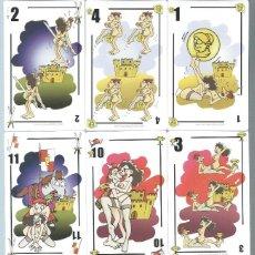 Barajas de cartas: BARAJA ESPAÑOLA FORNICAR-AÑO 2004. Lote 215022600